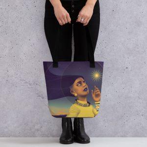 star deity tote bag